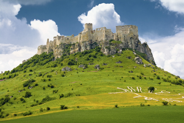 El castillo de Spis