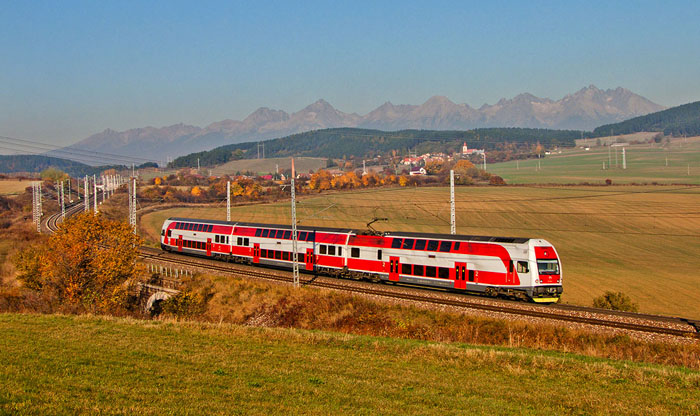 Llegar en tren a Eslovaquia