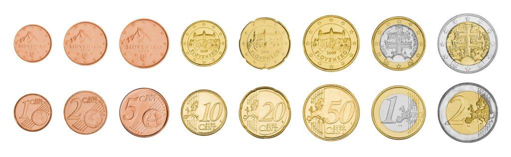 Monedas de Euro de Eslovaquia