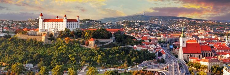 Panorámica de Bratislava