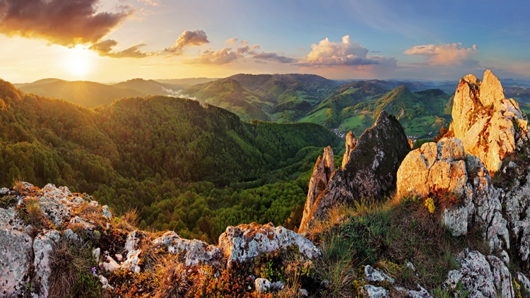 Montañas de Eslovaquia