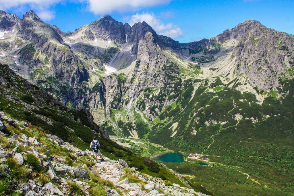 Trekking en las montañas de Eslovaquia