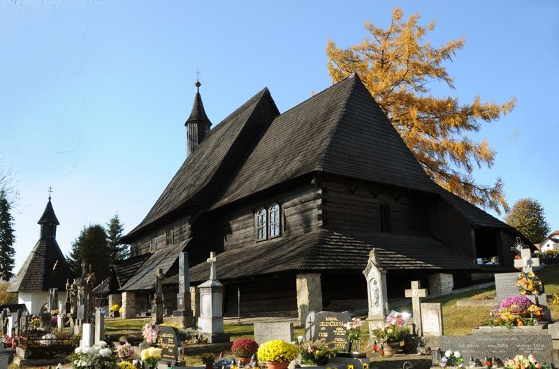 Iglesia de madera de Tvrdošín