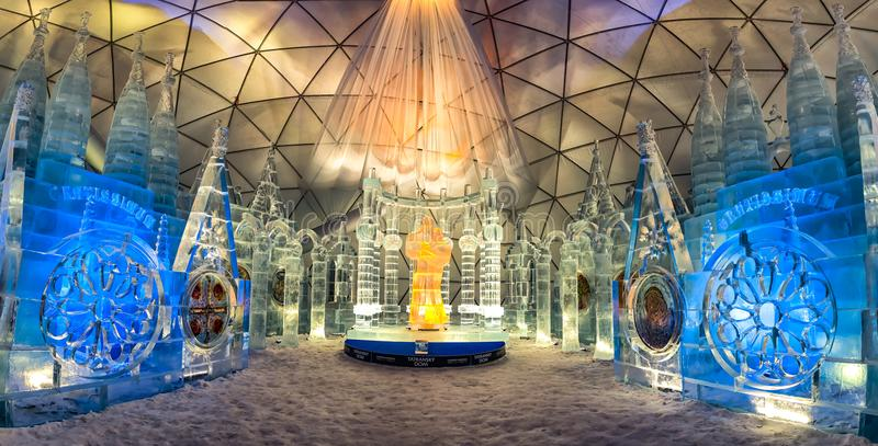 Ice Dome en Hrebienok