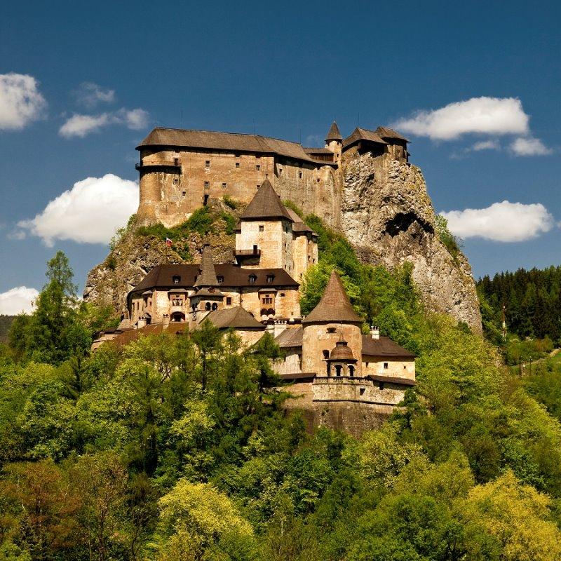 El castillo Orava, uno de los mejores de Eslovaquia